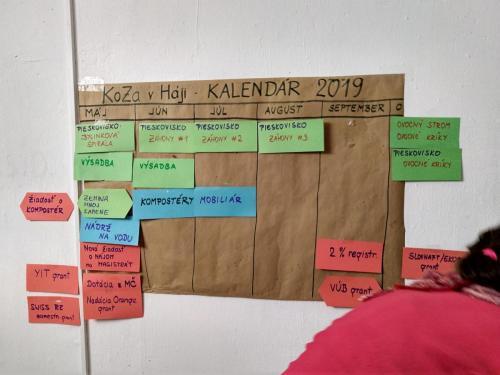 Členská schôdza - máj 2019
